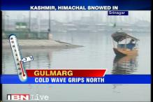 Fresh snowfall in Shimla, Dal Lake in Srinagar freezes