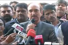 Gulam Nabi Azad's comment linking us with ISIS shows Cong's bankruptcy: RSS
