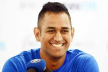 Watch: MS Dhoni's 'Lungi Dance' with Prabhudeva