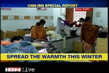 CNN-IBN joins hands with Goonj to provide warm clothes to people in need