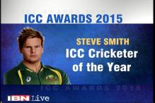 Steven Smith named ICC Cricketer of the Year 2015