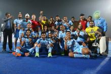 Images: India stun Netherlands to win Hockey World League bronze