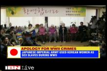 Japan apologises to South Korea over atrocities committed on women during World War II