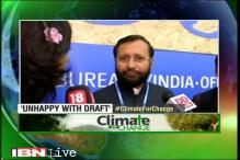 Not happy with first draft of climate resolution, says Environment Minister Prakash Javadekar