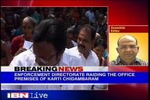 ED raids Karti Chidambaram's office in Chennai, seizes files & a laptop