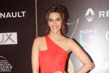 Look of the day: Kriti Sanon exudes radiance in a bright pink Gauri and Nainika outfit