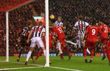 EPL: Liverpool snatch 96th minute equaliser against West Brom