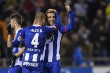 La Liga: Lucas Perez equals Deportivo record with goal in win