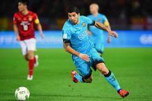 Barcelona coach hails Luis Suarez