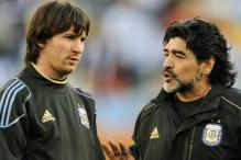 Diego Maradona inspired me to play football: Lionel Messi