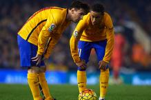 Neymar much more complete, says Lionel Messi