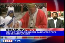 Watch: Archdiocese of Delhi on Mother Teresa being recognised for Sainthood