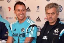 Chelsea captain John Terry, teammates salute outgoing Jose Mourinho