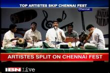 Rain battered Chennai's music festival split artists
