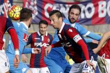 Serie A: Napoli stunned as Bologna smash undefeated streak