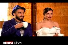 Watch: Ranvir and Deepika share their 'Bajirao Mastani' experience