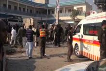 12 people killed and 25 wounded in a suicide blast in northwest Pakistan