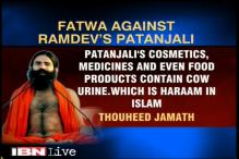 Muslim organisation issues fatwa against Patanjali products for having cow urine