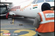 Bus rams into Air India flight at Kolkata airport