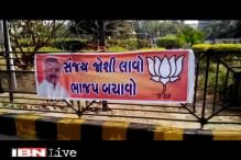 Narendra Modi's rival Sanjay Joshi posters appear in Ahmedabad with slogans of 'Save BJP'