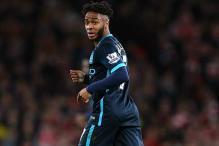 Manchester City's Raheem Sterling hails team-mates Sergio Aguero, David Silva