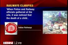 Railways say it has nothing to do with child's death