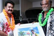 Snapshot: Have you seen this photo which Mohanlal shared on Rajinikanth's birthday?