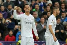 Ronaldo scores twice as Real Madrid beat Real Sociedad 3-1 in La Liga; Malaga stun Levante