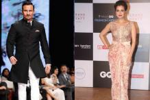 Van Heusen GQ Fashion Nights: Saif Ali Khan turns showstopper for Raghavendra Rathore; Dia Mirza roots for Shantanu-Nikhil