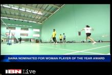 Saina Nehwal nominated for BWF Woman Player of the Year