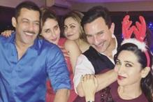 Snapshot: Salman Khan, Kareena Kapoor, Saif Ali Khan celebrate Christmas together