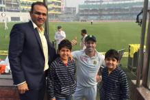 I have promised my sons a Ferrari if they break my 319 at any level: Virender Sehwag