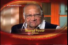 Actor Farhan Akhtar, politician Sharad Pawar congratulates CNN-IBN for completing 10 years of responsible journalism