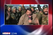New Year wishes from the jawans and police officers