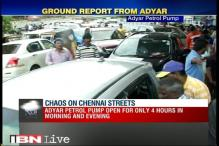 Chennai rains: Petrol Pump in Adyar open only for 4 hours in morning and evening adds to chaos
