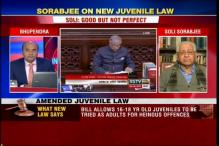 Good but not perfect, says former AG Soli Sorabjee on the Juvenile Justice Bill