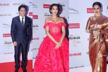 Shah Rukh Khan joins Sonam Kapoor, Rekha for Filmfare Glamour & Style Awards 2015