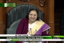 Sumitra Mahajan apologises, expunges her 'vested interest' remarks