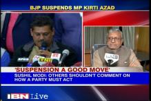 Suspension a good move, says BJP leader Sushil Modi