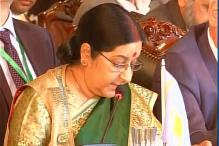 Sushma Swaraj Raises Masood Azhar Issue With Chinese Counterpart