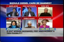 Ban all diesel cars in Delhi: Salve