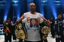 World heavyweight champion Tyson Fury stripped of IBF title
