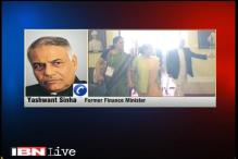 Government must explain why it resumed dialogue with Pakistan: Yashwant Sinha