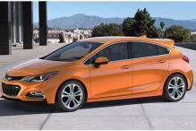 Chevrolet reveals its all-new 2017 Cruze hatchback