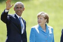 Obama, Merkel discuss Syrian refugee crisis