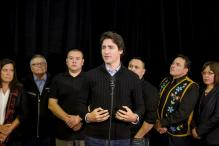 Canadian PM Trudeau visits La Loche after school shooting