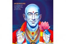 Fortune magazine draws flak for depicting Amazon's Jeff Bezos as Lord Vishnu