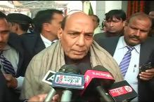 Rajnath Singh meets NSA, IB, RAW chiefs to review security situation
