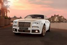 This Rolls-Royce Wraith comes customised with 999 pure gold plating