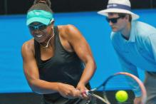Cancer survivor Vicky Duval delights in role as Serena Williams stand-in